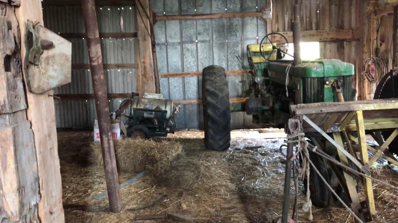 Looking Inside My Grandpa S Old Barn Youtube
