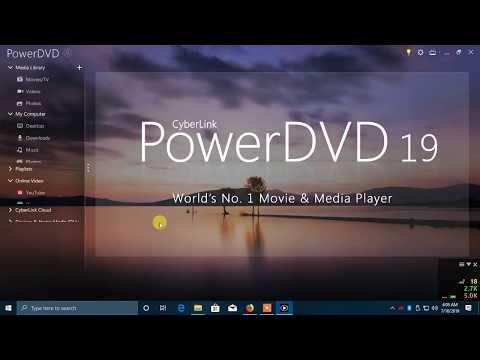 CyberLink PowerDVD Ultra 19.0.1912.62 Crack & Keygen