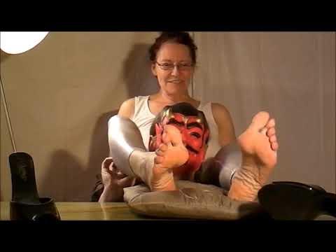 ticklish mature lady
