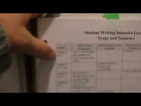IEW {Institute For Excellence In Writing}  review and explanation  pt. 1