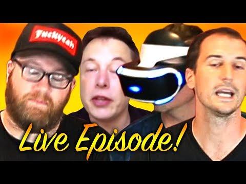 CAR BROS LIVE! 1M Sub Special with Elon Musk
