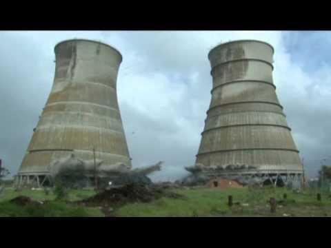 Athlone Towers demolition - best footage