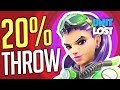 Overwatch - TROLLS AND THROWERS in 20% of Games?!