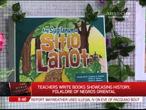 Teachers write books showcasing history, folklore of Negros Oriental