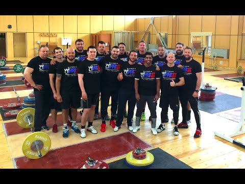 WEIGHTLIFTING Training Camp 2015 / RUSSIA, Moscow - 1st week