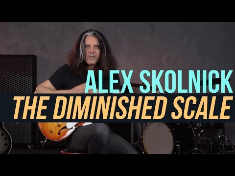 Alex Skolnick Jazz Lesson - The Diminished Scale