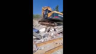 Pulang Merantau Dapati Istri Selingkuh, Suami di Malang Bongkar rumahnya dengan Excavator