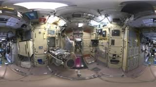 جولة في محطة الفضاء الدولية