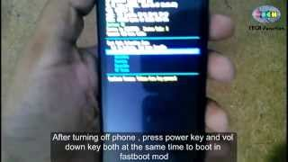 How to Flash recovery and Root  Motorola MOTO E [HD]