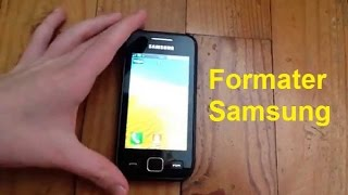 Formater Samsung (Code pour formater Samsung)