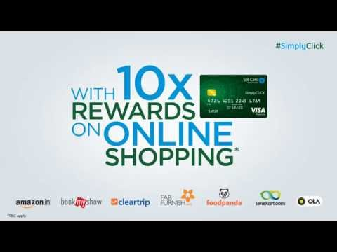 SimplyClick SBI Card - A Credit Card for the Generation that Shops Online