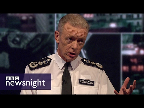 Sir Bernard Hogan-Howe on the state of policing today - BBC Newsnight