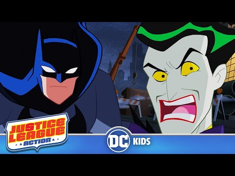 Justice League Action | Batman vs. The Joker | Batman Day 2017