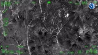 Volusia County's Air One assisted Flagler deputies in tracking down a man they say escaped arrest an