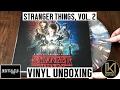 Kyle Dixon & Michael Stein - Stranger Things Volume 2 Vinyl Unboxing | KurVibes