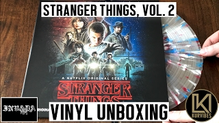 Kyle Dixon & Michael Stein - Stranger Things Volume 2 Vinyl Unboxing (Invada Records Exclusive)
