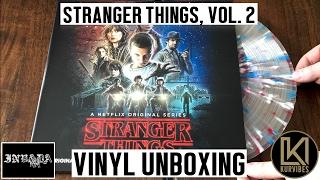 Gambar cover Kyle Dixon & Michael Stein - Stranger Things Volume 2 Vinyl Unboxing | KurVibes
