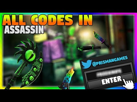 Roblox Assassin Z Codes For Free Items For Roblox Roblox Assassin All Working Codes Free Knives Youtube