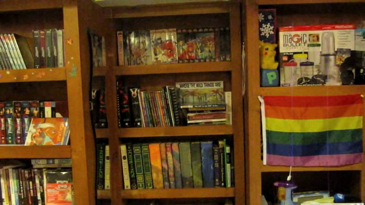 3 8 Secret Room Behind A Bookshelf