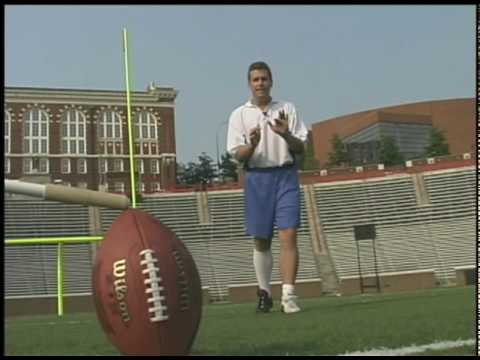 Kick a Football -Former NFL Kicker Doug Pelfrey Kicking Video for Kickers