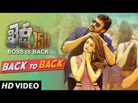 Khaidi No 150 Back To Back Video Songs |...