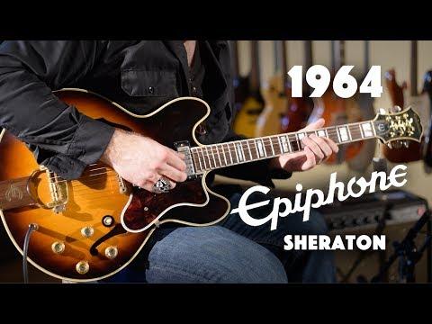1964 Epiphone Sheraton played by JD Simo