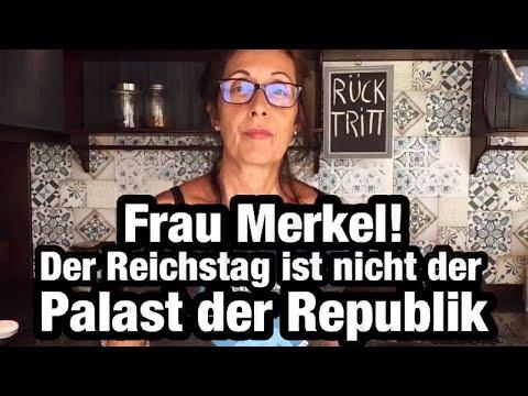 Frau #Merkel! Der #Reichstag ist nicht der Palast der Republik! Die #Impfmafia kann längst einpacken