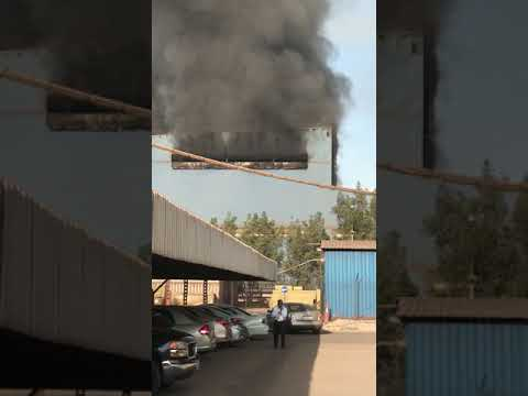 Fire at steel factory in Salman Industrial City
