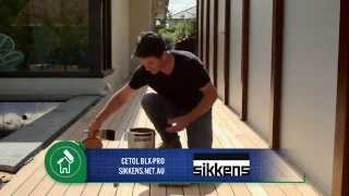 the home team coating a deck how to