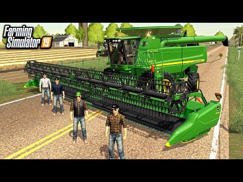 FARMERS COME TOGETHER TO HELP HARVEST WHEAT (ROLEPLAY