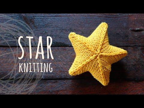 Tutorial Knitting 3D Star - YouTube