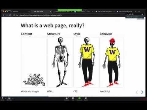 CSE154:Web Programming | Class 5 | CSS FLEX, JS Event Listener