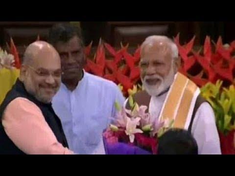 PM Modi Unanimously Elected Leader Of NDA