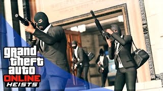 GTA 5 HEIST GAMEPLAY - ORNATE BANK HEIST!! (GTA 5 Pacific Standard Bank Heist)