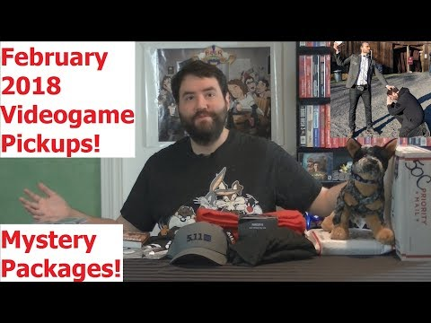 PlayLoad  Videogame Pickups February 2018  Adam Koralik