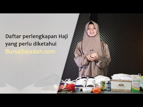 Daftar Perlengkapan Haji dan Umroh Wanita dari Zaidan Mall membantu menyiapkan barang-barang yang ha.
