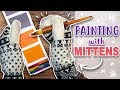 WAS THIS A DUMB IDEA? - Painting With Mittens - Viviva Colorsheets