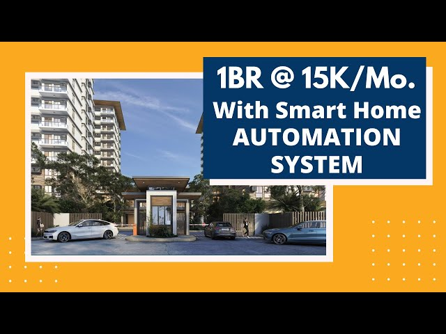 1BR @ 15K/Mo. Smart Home Condo in Bacoor | The Meridian Coho