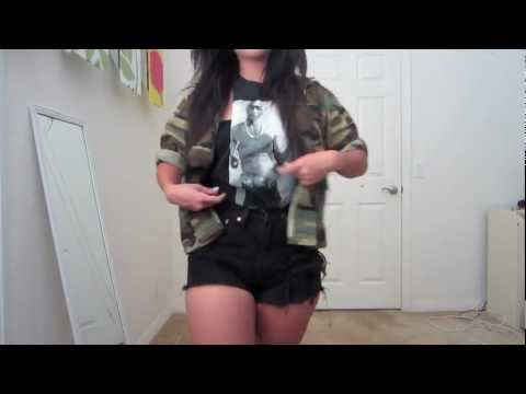 How to style Military/Camo/Army Jacket