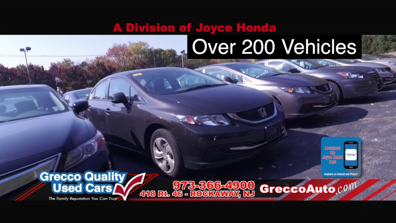 Exceptional Grecco Luxury Vehicles. Joyce Honda