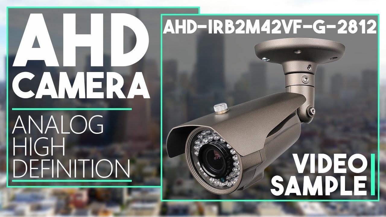 AHD-IRB2M42VF-G-2812 - 2.4MP AHD Bullet Camera Day & Night Sample ...