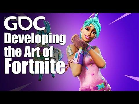 Developing the Art of Fortnite