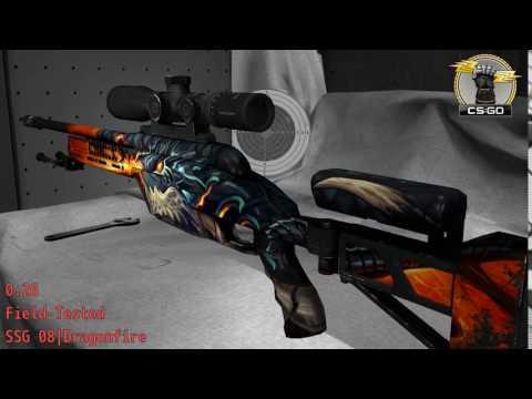 SSG-08  Dragonfire  Wear/Float
