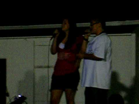 Singing Karaoke for Relay for Life (P!nk- Who knew)