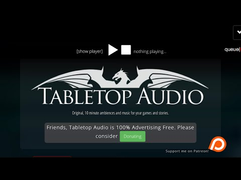 Tabletop Audio - A DM's best friend