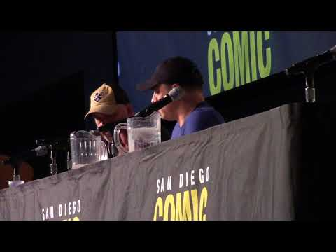 SDCC 2017 Geoff Johns Spotlight Panel