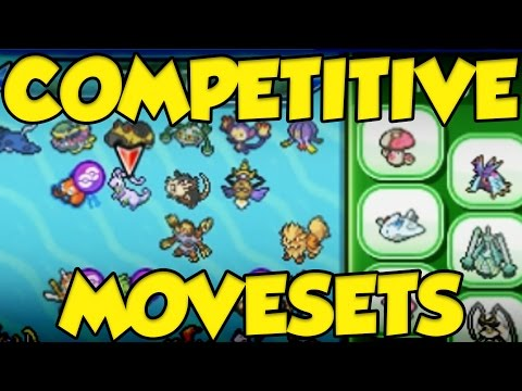 All Of My Competitive Pokemon Sun and Moon Movesets!