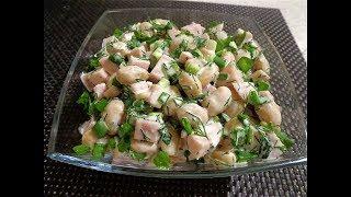 Вкусный салат за 5 минут. На скорую руку празднично и вкусно!