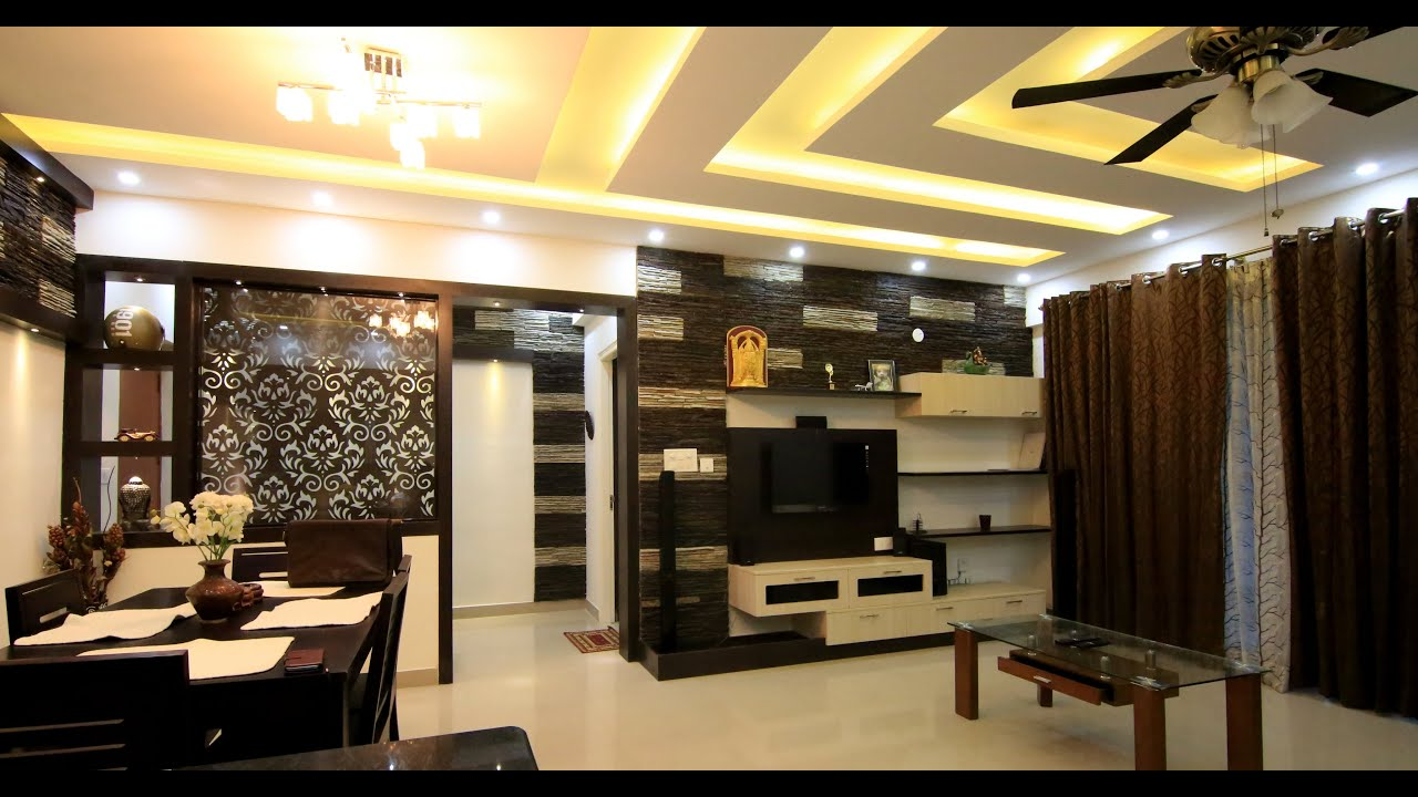 Suresh Babuu0027s Home | Interior Design | Mera Homes Apartments |  Whitefield,Bangalore   YouTube