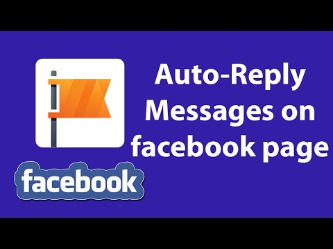 How To Set Auto Reply Messages On Facebook Page